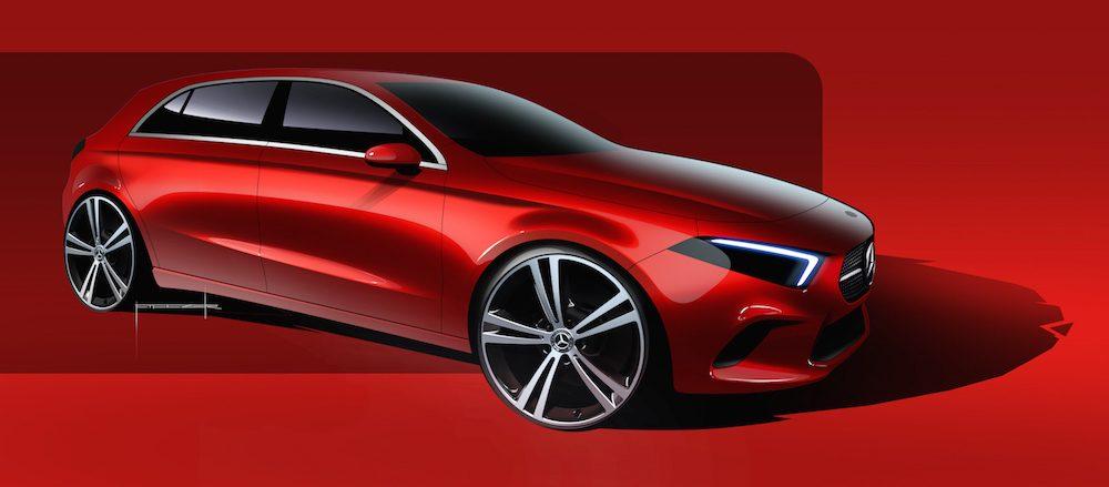 A-Klasse W177 Filczer sehen Exterior Design Mercedes-Benz