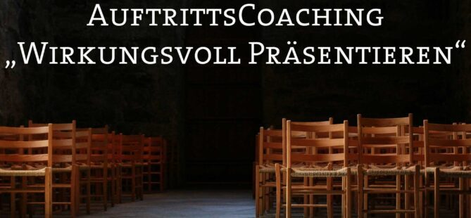 Auftrittscoaching Wirkungsvoll Praesentieren Chris Cuhls Martin Kloss