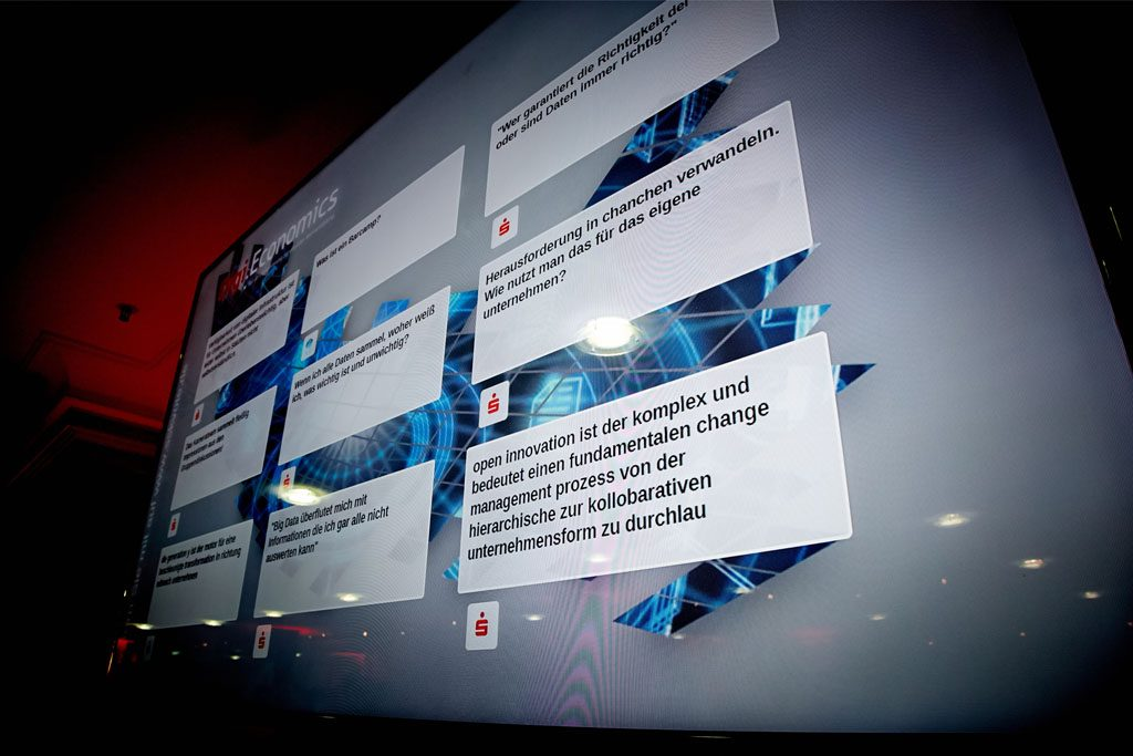 Event-App Interaktion Social Media Twitterwall