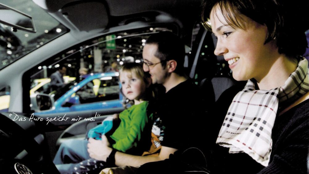 Event-Konzeption Volkswagen Speaking Cars