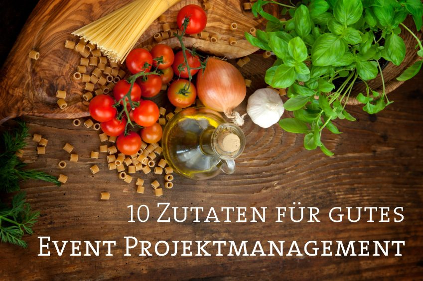 Projektmanagement Events Live-Kommunikation