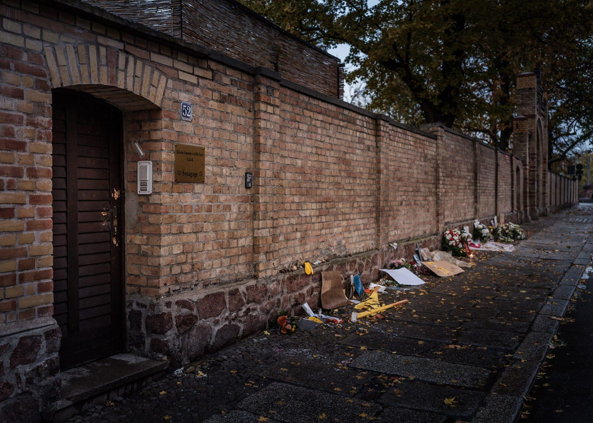 Gedenken an den Anschlag in Halle