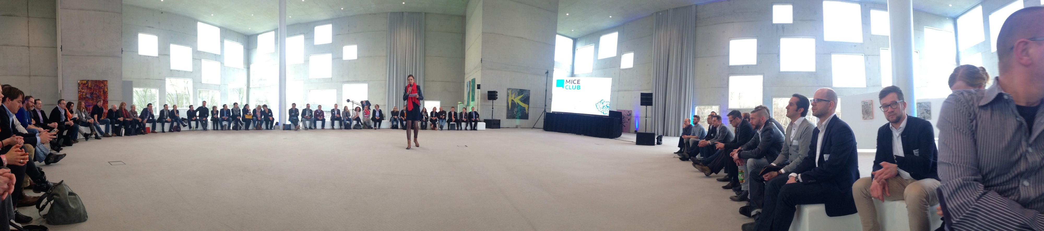 Interaktive Plenumssession MICE Club Live 2015