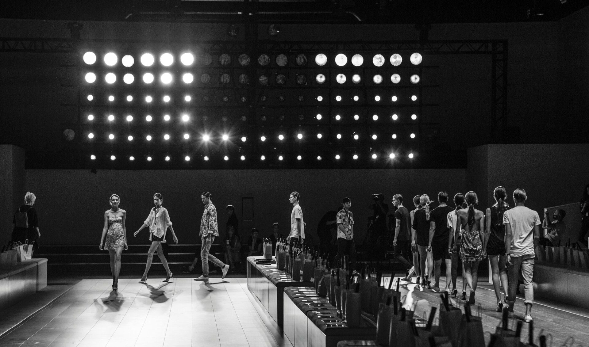 Lichtdesign Runway Mercedes-Benz Fashion Week Berlin