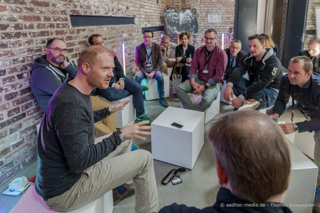 WD40 zwischen Mensch und Technik Kommunikation ConnectLIVE2017
