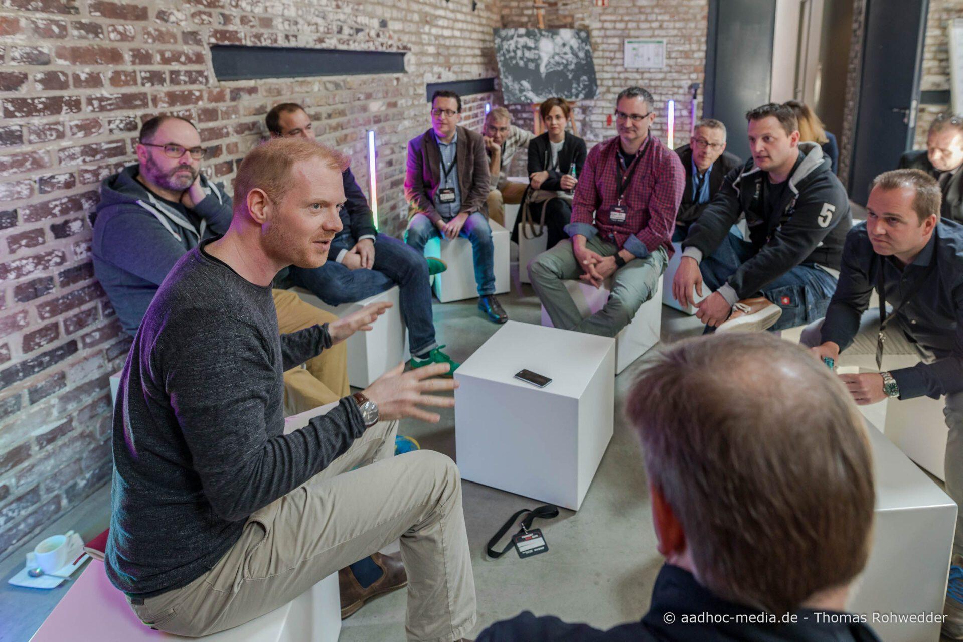 WD40 zwischen Mensch und Technik Kommunikation Event Partner Connect 2017