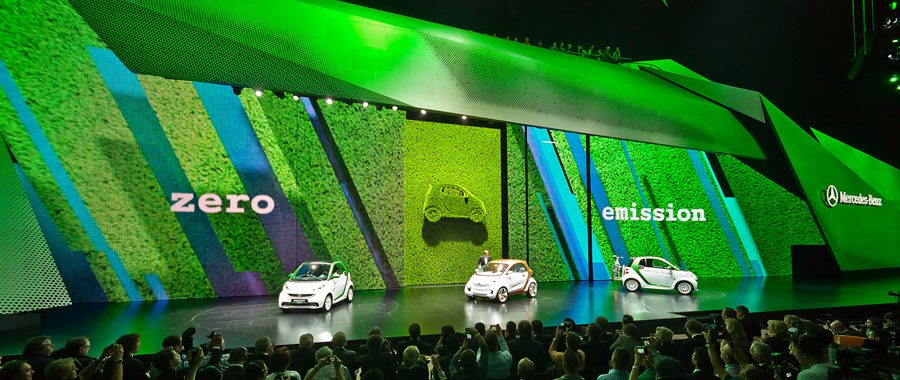 Produktinszenierung Daimler Pressekonferenz IAA 2011 Eventregie