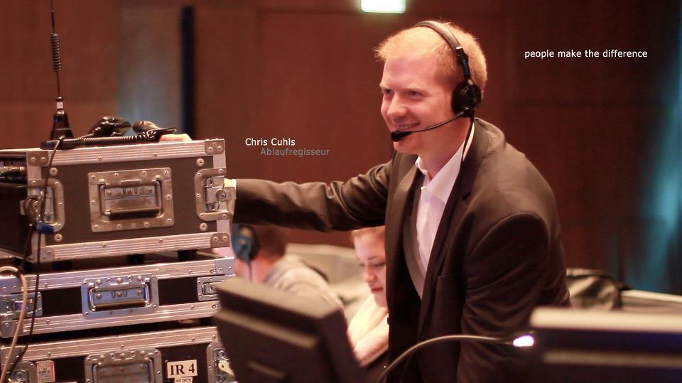 Chris Cuhls Eventregie Ablaufregie Konzeption Show Ablaufregisseur