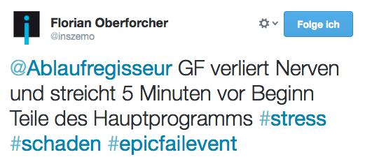 epic fail events #epicfailevents Florian Oberforcher @inszemo