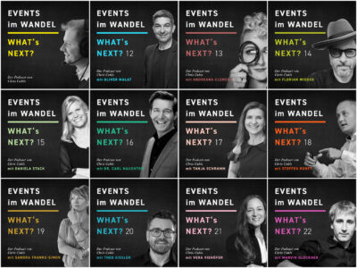 Hybride Events Podcast Whats next? Events im Wandel Staffel 2